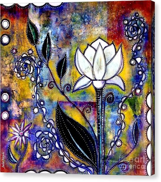 Waking Up Canvas Print