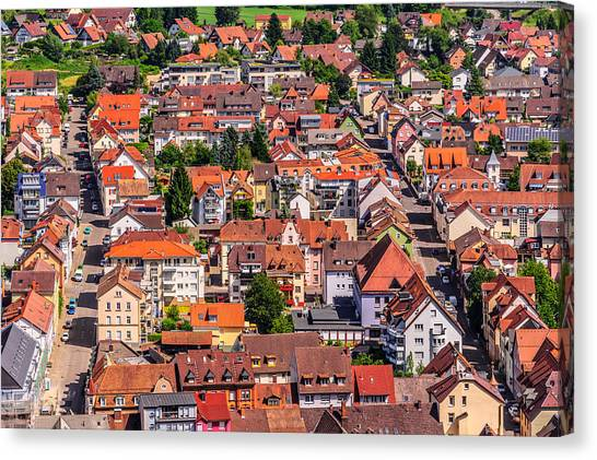 Waldkirch 2 Canvas Print