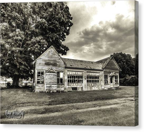 Walholding Post Office Canvas Print