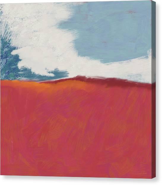 Berries Canvas Print - Walk In The Field- Art By Linda Woods by Linda Woods