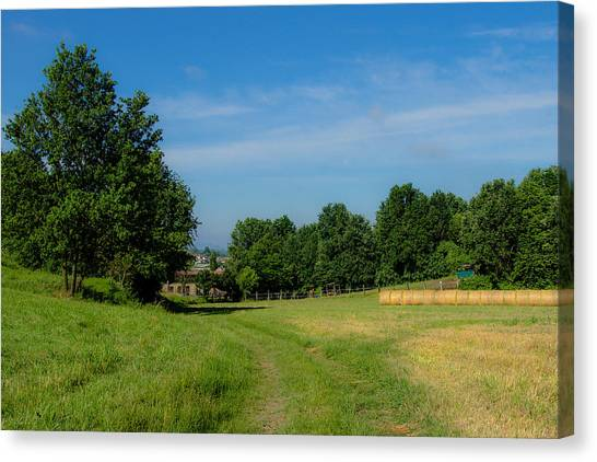Walk To The Countryside  Canvas Print