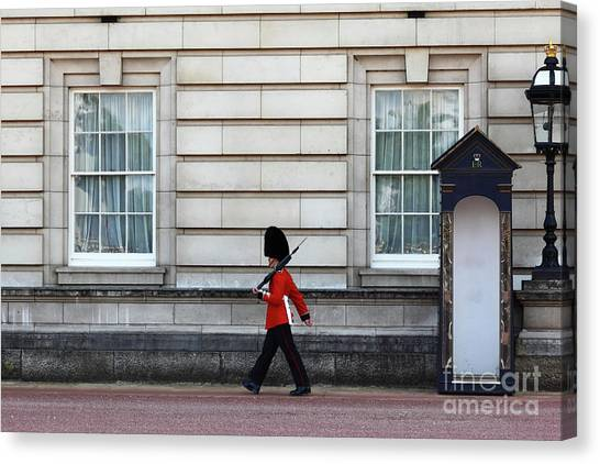 Royal Guard Canvas Print - Walkabout In London by James Brunker