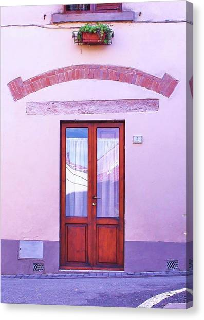 Canvas Print - Walking Somewhere In Tuscany by Slawek Aniol