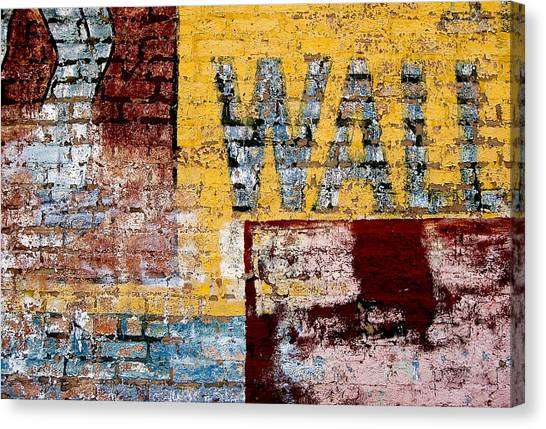 Wall Canvas Print by Curtis Staiger