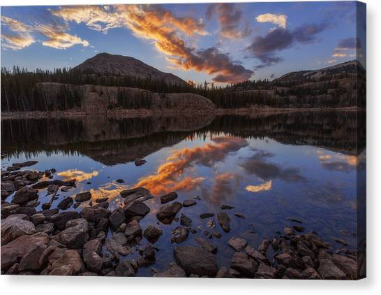 Uinta Canvas Print - Wall Reflection by Chad Dutson
