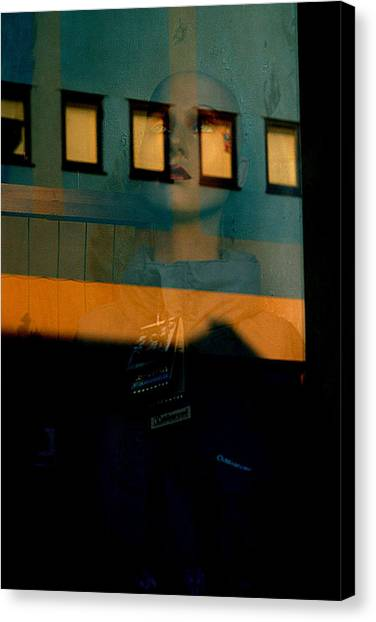 Walled In In This Odd World Canvas Print by Jez C Self