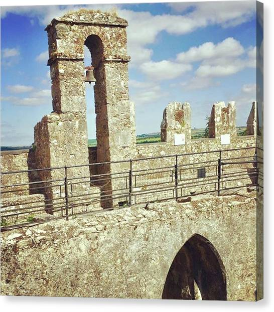 Canvas Print - #walls #castle #fortress #stonewalls by Christos Mouzeviris