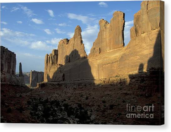 Walls Of Broadway Canvas Print by Stan and Anne Foster