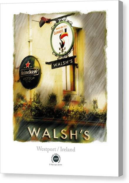 Walsh's Canvas Print