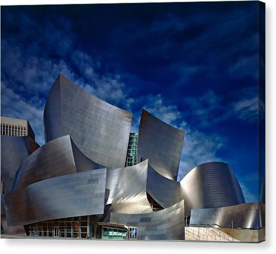 Walt Disney Concert Hall Canvas Print