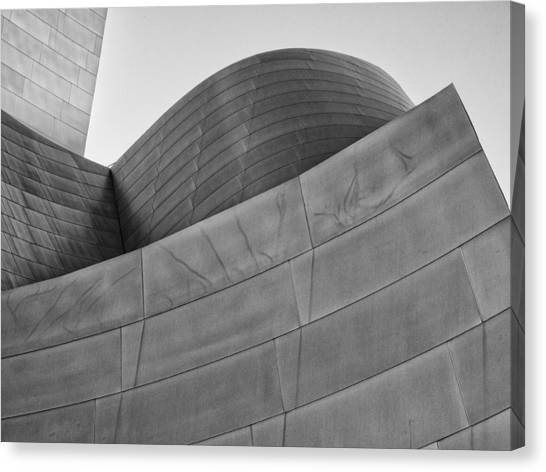 Walt Disney Concert Hall Four Canvas Print