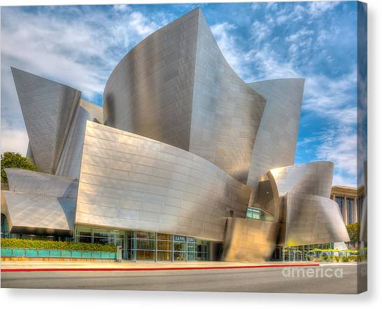 Walt Disney Concert Hall - Los Angeles Canvas Print