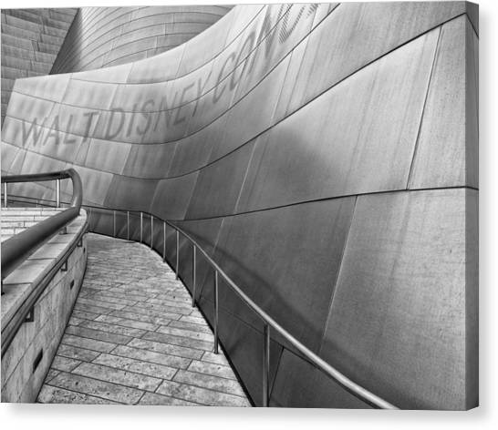 Walt Disney Concert Hall One Canvas Print
