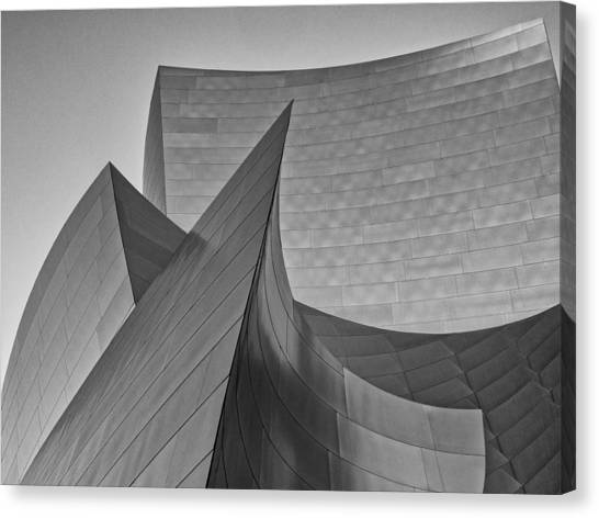 Walt Disney Concert Hall Three Canvas Print