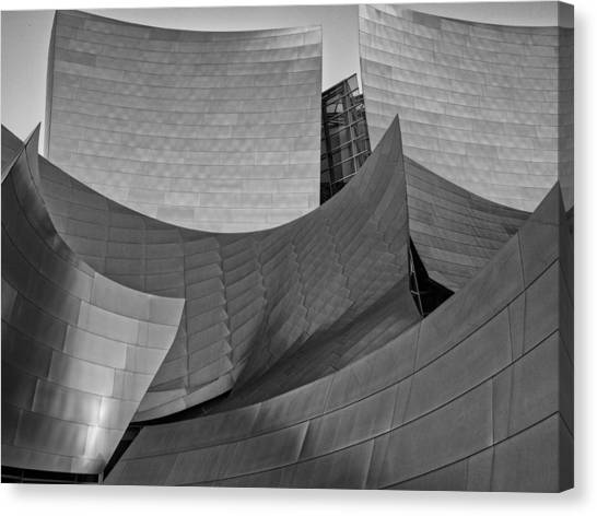 Walt Disney Concert Hall Two Canvas Print