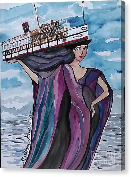 Wanda IIi Canvas Print