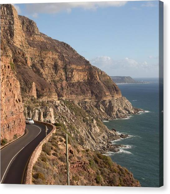 South Africa Canvas Print - Chapmans Peak by Lorna Mason