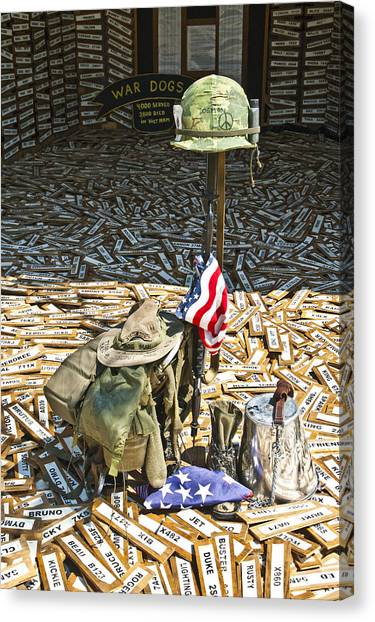 War Dogs Sacrifice Canvas Print