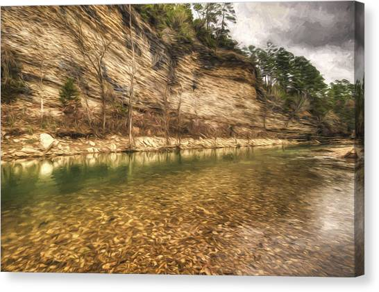 War Eagle Bluff Canvas Print