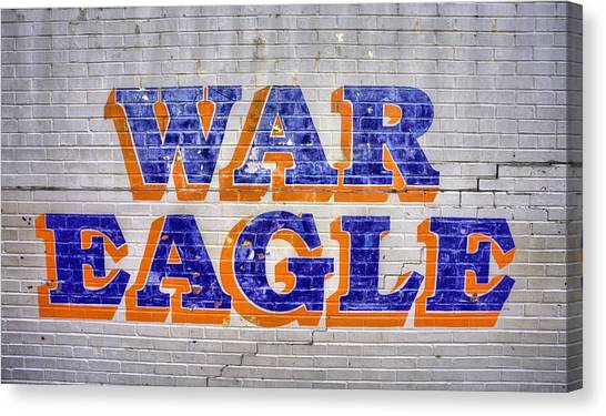 Sec Canvas Print - War Eagle by JC Findley