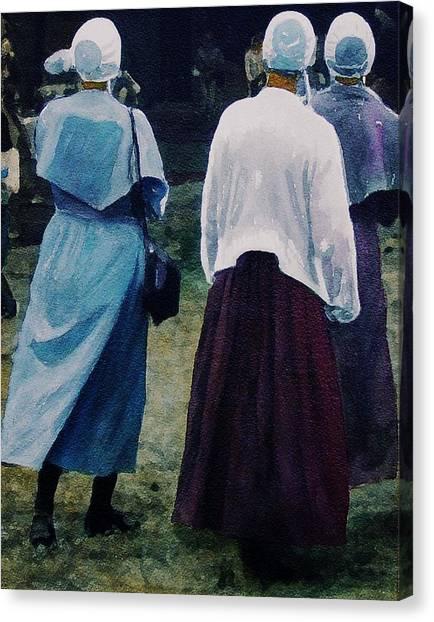 War Eagle Ladies Canvas Print by Tom Herrin