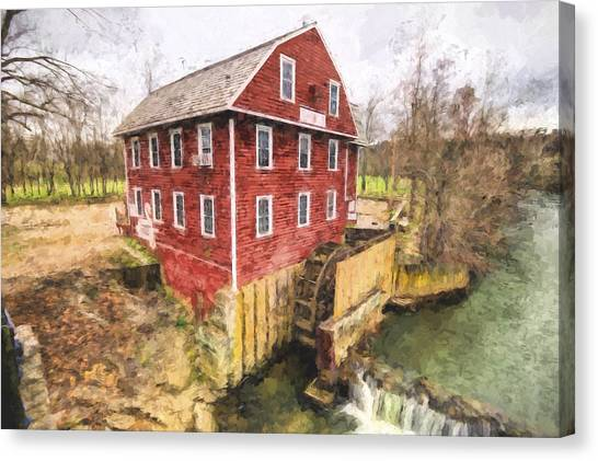 War Eagle Mill Canvas Print