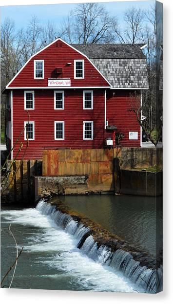 War Eagle Mill Canvas Print