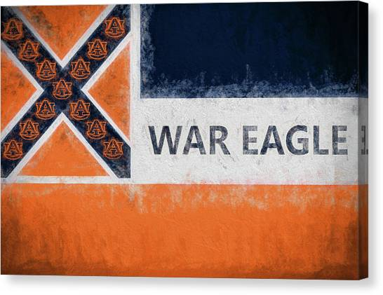 War Eagle Mississippi Canvas Print by JC Findley