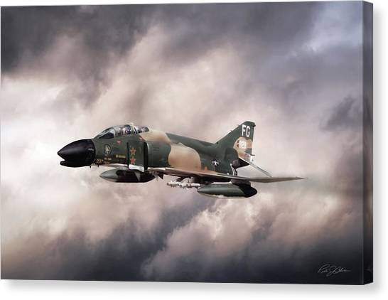 Robin Canvas Print - War Horse Scat Xxvii by Peter Chilelli
