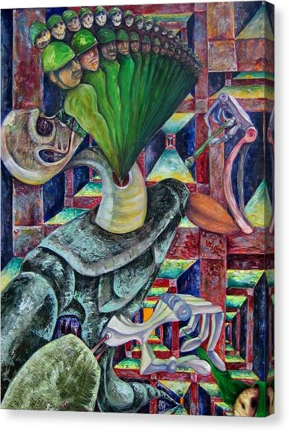 War Hunger Canvas Print by Horacio  Montes