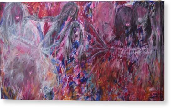 War Of Souls Canvas Print by Randall Ciotti