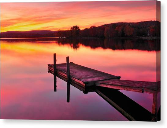 Waramaug Sunset Canvas Print