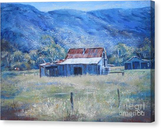 Warby Hut Canvas Print