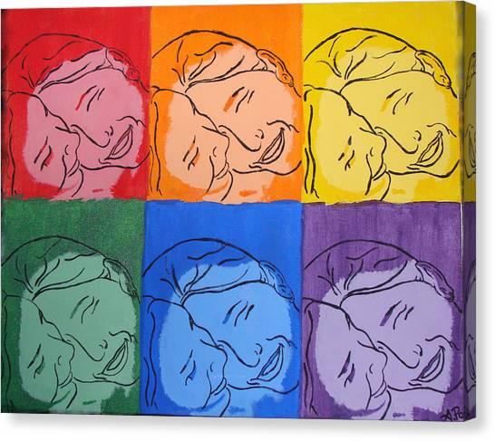 Warhol Inspired Canvas Print by Ashley Porter