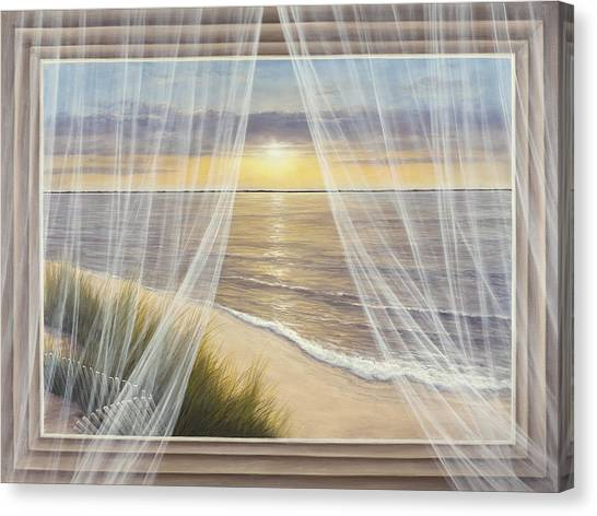Warm Breeze Canvas Print