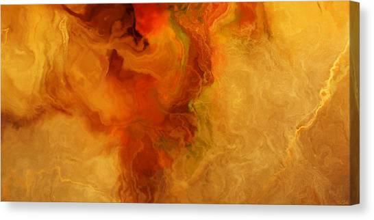 Warm Embrace - Abstract Art Canvas Print