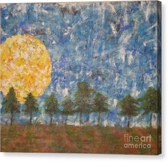 Warm Springs Morning Canvas Print