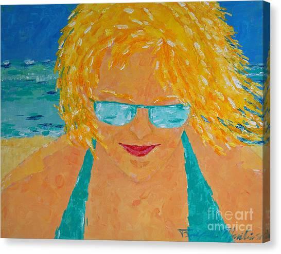 Warm Summer Breeze Canvas Print