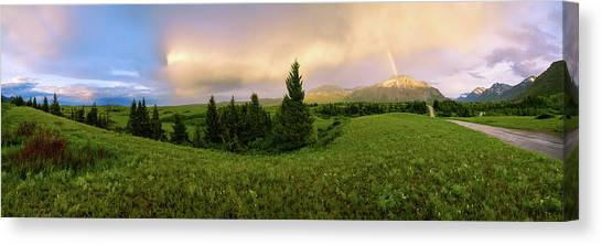 Alberta Canvas Print - Warm The Soul Panorama by Chad Dutson