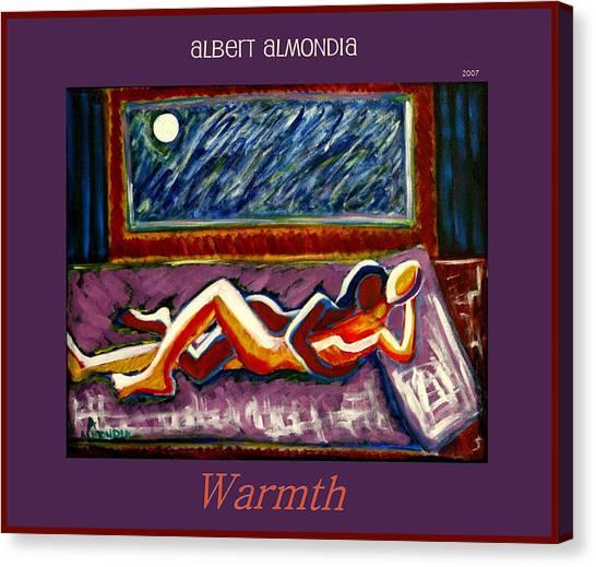 Warmth Canvas Print by Albert Almondia