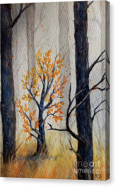 Warmth In Winter Canvas Print