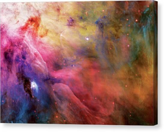 Warmth - Orion Nebula Canvas Print