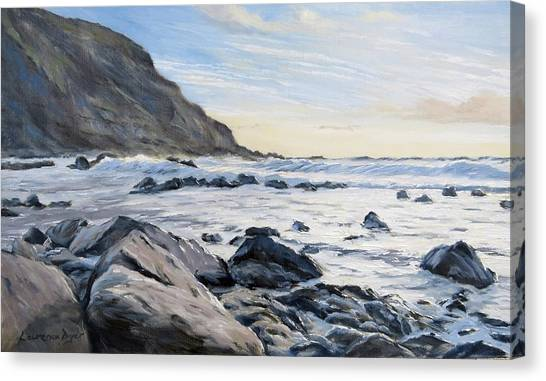 Warren Point Sunset Duckpool Canvas Print