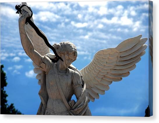 Warrior Angel Canvas Print