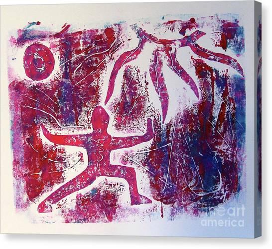 Warrior One  Canvas Print