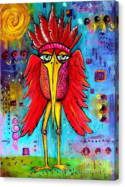 Warrior Spirit Canvas Print