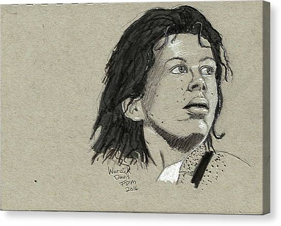 Warwick Davis Canvas Print