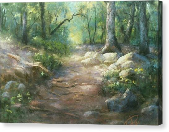 Warwick Woods Canvas Print