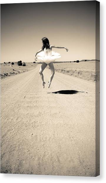 Washboard Ballet Canvas Print