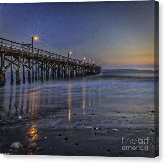 Ucsb Canvas Print - Washed Clean by Mitch Shindelbower